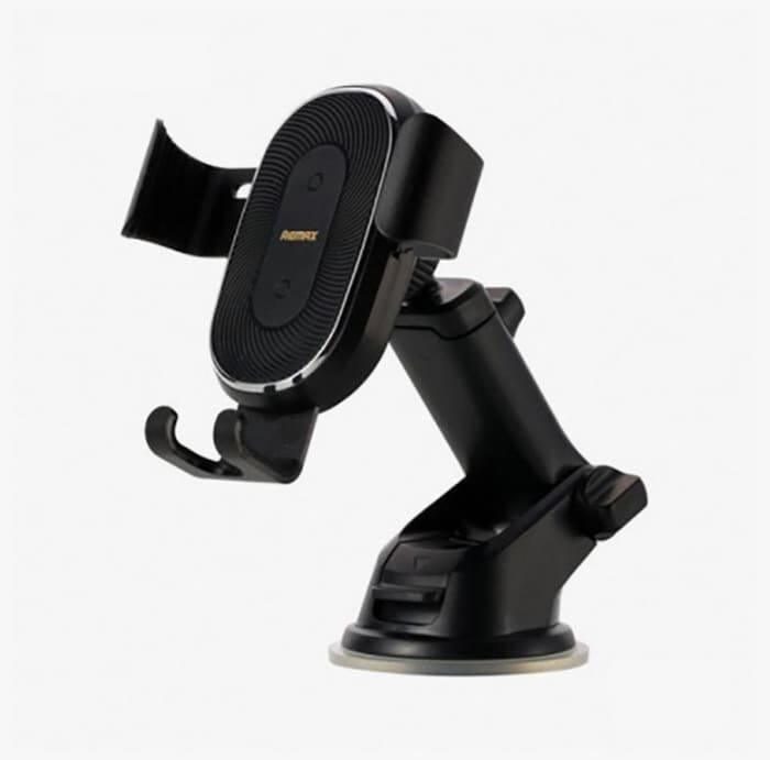 REMAX wireless charger and suction mount RM-C37 - Black