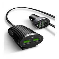LDNIO C502 5.1A 2+2 USB front and back seat car charger