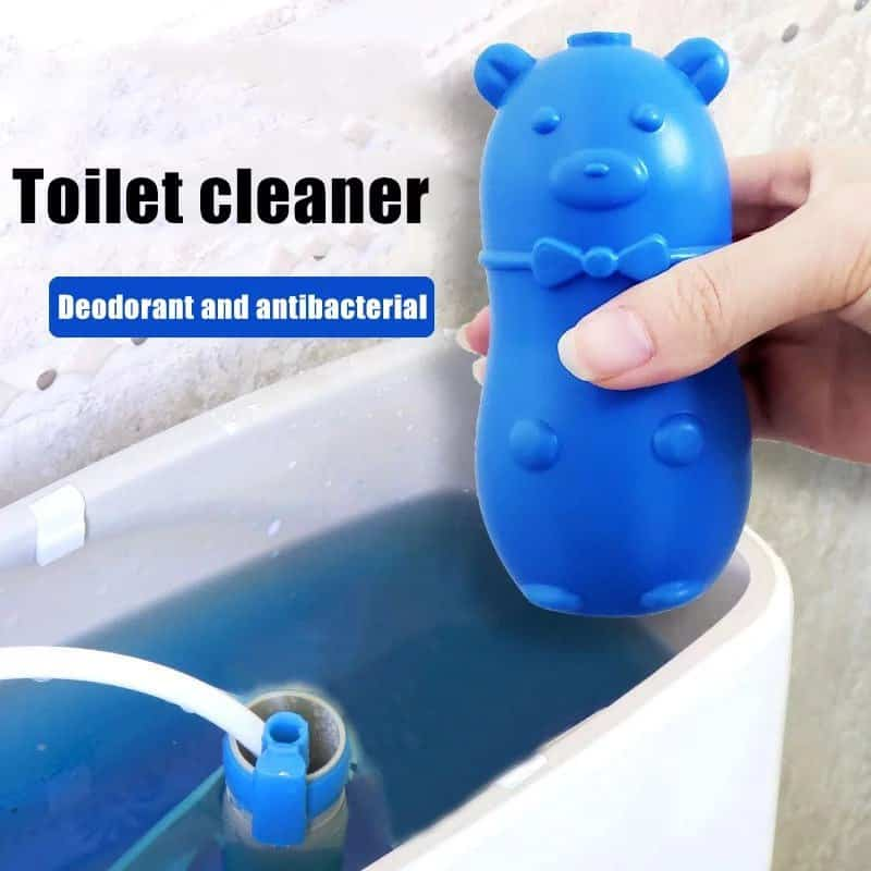 Toilet Bowl Cleaner, Kill Germs and Dirt This Gentle Bear Shape
